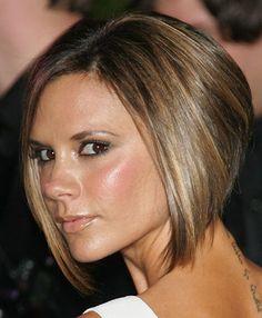Victoria Beckham Short Bob Hairstyle