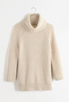 Madewell funnelneck sweater.