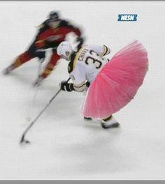 zdeno chara s sick goal with a ballerina tutu boston bruin zdeno chara