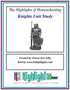 Knights Unit Study about Medieval Knights