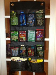 Hang Up Space Saver … great for organizing the small items in your pantry!