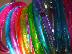 I loved jelly bracelets.