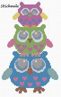Spring owls free pattern