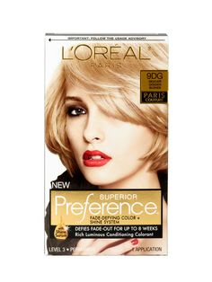 2013 Readers' Choice Awards: Readers' Choice: allure.com......best home hair color. comes in 47 shades. L'Oreal Paris Superior Perference Fade Defying Color and Shine System.  Stays rich and not flat looking for up to two months..