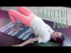 A relaxing routine for the mind and body! This yoga sequence is designed to prepare you for a good night's sleep creating space in the body as we cue the mind that its time to calm down and get ready for rest. This also is a great practice to do anytime of day if you are looking for Yoga to relieve stress.