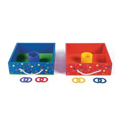 10 Pc. Washer Toss Game - OrientalTrading.com