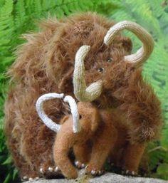 Wooly Mammoth Toy Knitting Patterns: Wonderful!