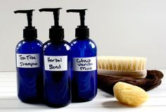 Homemade Coconut Milk Shampoo and Body Wash