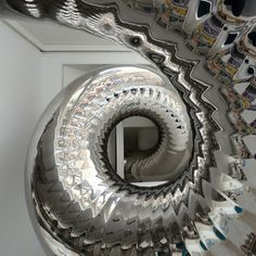Skyhouse by David Hotson and Ghislaine Viñas    (Ok, not a staircase. But it's an indoor slide!)