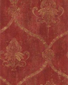 gold floral, red, yard, antique distressed wallpaper, antiqu gold, wallpapers, gold damask wallpaper, floral damask, gold lattic