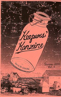 Keeper's Kanzine Issue 1 - this is a very handy and beautifully put together zine