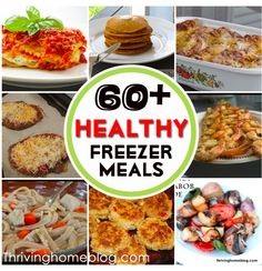 Repinned:The motherload of healthy, yummy freezer meals! Use this for future menu planning.
