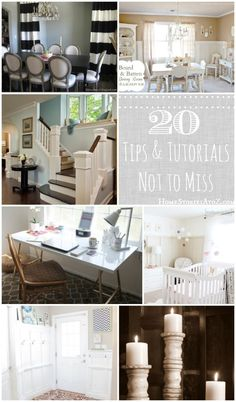 20 DIY Decorating tips & tutorials