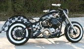 Custom checker bike