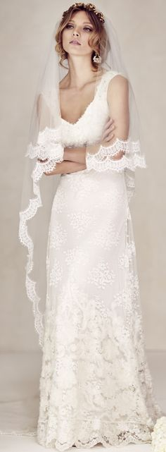 Wedding gown for your second wedding? Yes, why not. Read about woodland weddings - article - http://www.boomerinas.com/2014/10/17/woodland-wedding-dresses-ideas-for-wedding-2-or-3-or-4-or-whatever/