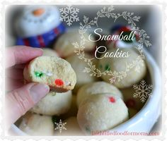 Snowball Cookies - A