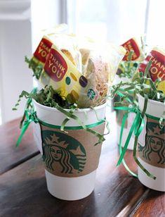 Sweet STARBUCKS gift idea!