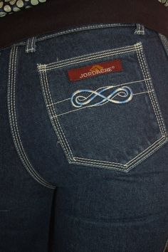 Jeans of the 70's...I loved these!