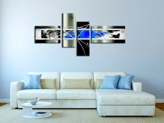 Tableau on pinterest toile abstract paintings and - Toile murale decorative ...