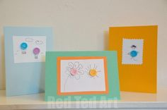 Button Crafts: Button Art & Button Cards!