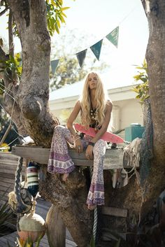SPELL & THE GYPSY COLLECTIVE, 'LAST DAYS OF SUMMER' LOOKBOOK  photography: johnny abegg   ∆   model: hanalei reponty  h+m: luciana rose   ∆   styling: lizzy & spell of spell
