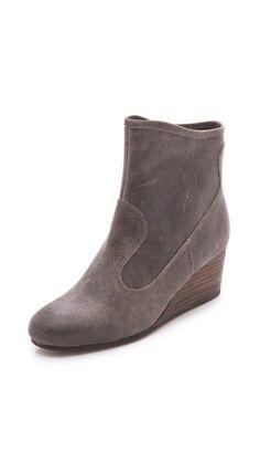 luxury rebel shoes | tracey wedge booties