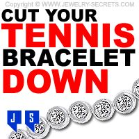 ► ► Tennis Bracelet too Big? Get it Cut Down to Fit your Wrist! tenni bracelet