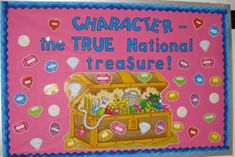 bulletin board, treasur