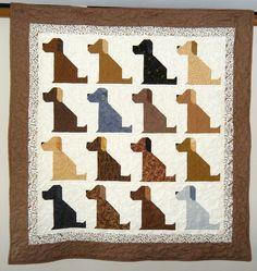 A dog quilt must make!