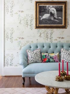 """""""Personalize your home through photography. I love to use family photos in non-traditional ways to enhance a room's decor,"""" says Naomi Stein of Design Manifest."""