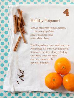 Potpourri recipe