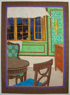 "Peter Pan - ""Open Window Policy"" quilt by Carolanne Olson at Cover to Cover Quilters"