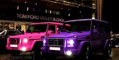 Pink and purple benz jeep girly pink girls purple mercedes barbie benz benz jeep mercedes benz jeep