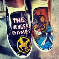 More Hunger Games shoes? Love it.