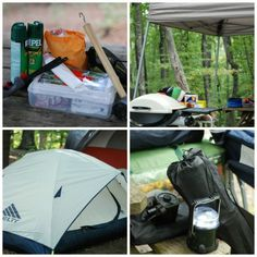 Thorough Camping Checklist on ASpicyPerspective.com #camping #fall #kelty #weber