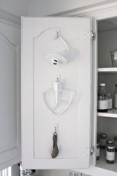 3m hooks and back of kitchen cupboards
