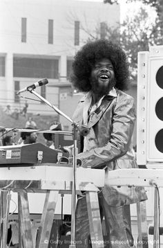 ~ Billy Preston - saw him on keyboards when toured with Eric Clapton