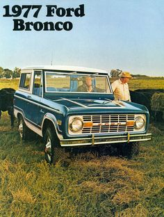 1977 Ford Bronco, I'd love one of these.