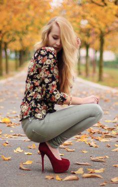 Fall Florals.
