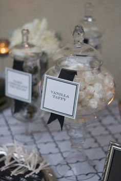 black and white candy bar