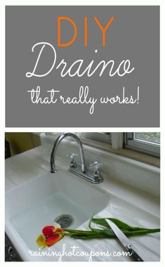 DIY Draino - that really works!!