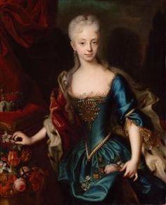April 19, 1770: Marie Antoinette married Louis XVI. This is a picture of her mother, Maria Theresa. Lovely woman, no?