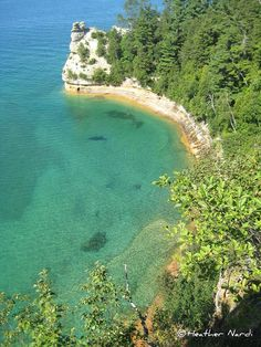 Michigan, Pictured Rocks.  Look at that beautiful lake!  I cannot wait to take my kids!