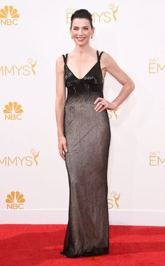 Julianna Margulies from 2014 Emmys: Red Carpet Arrivals   E! Online