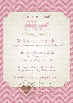 Chá de bebê - Menina Retro R$20.00