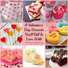 Eight Valentines Day Desserts You'll Fall in Love With!