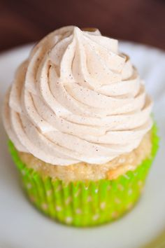 Apple Cupcakes with