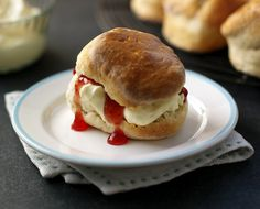 English summers just wouldn't be the same without scones served with lashings of cream and jam.