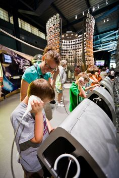 Glass changes the world—see how in the award-winning, state-of-the-art, interactive science and technology exhibit called the Innovation Center at The Corning Museum of Glass.