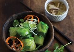 Cabbage Parcels in Broth | Vegetarian Times